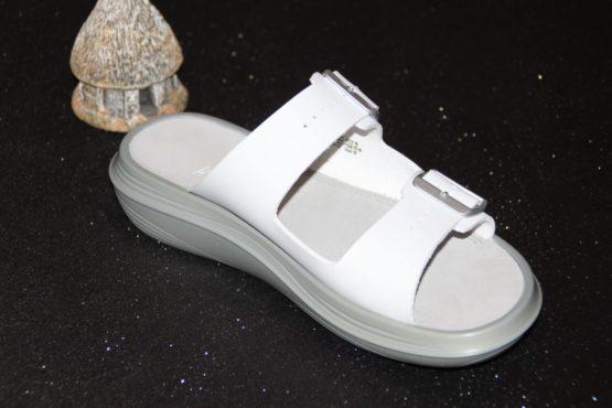 Photo de la sandale Glarus White côté intérieur