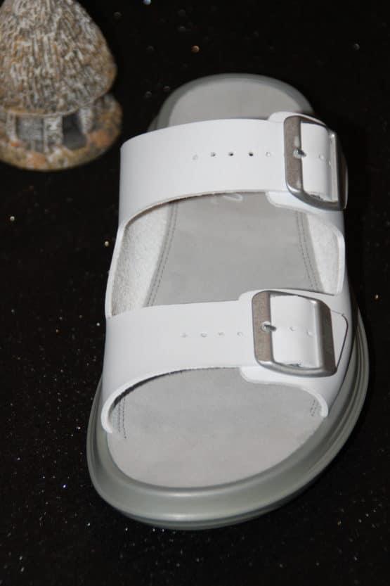 Photo de la sandale Glarus White de face