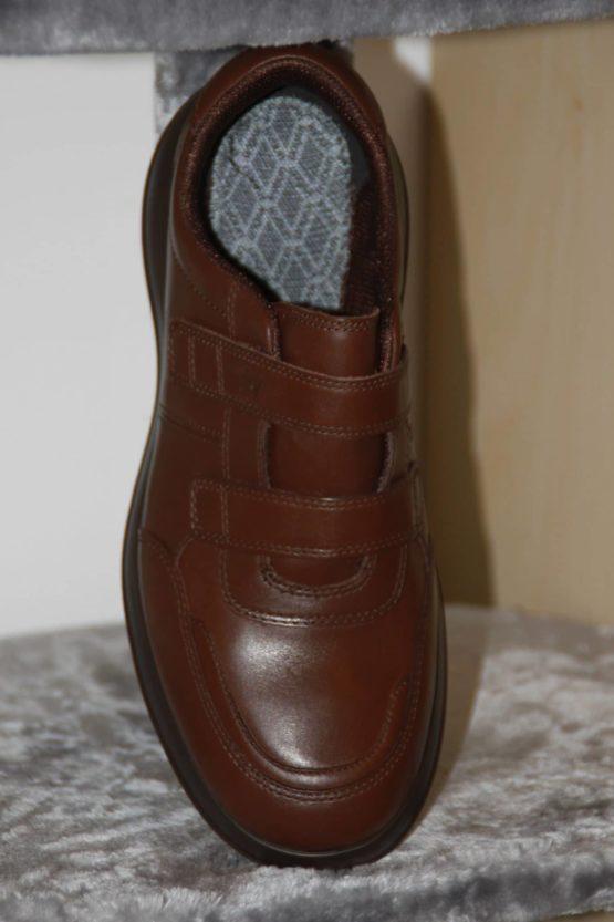 Photo de la chaussure kybun Heiden Brown vue de face